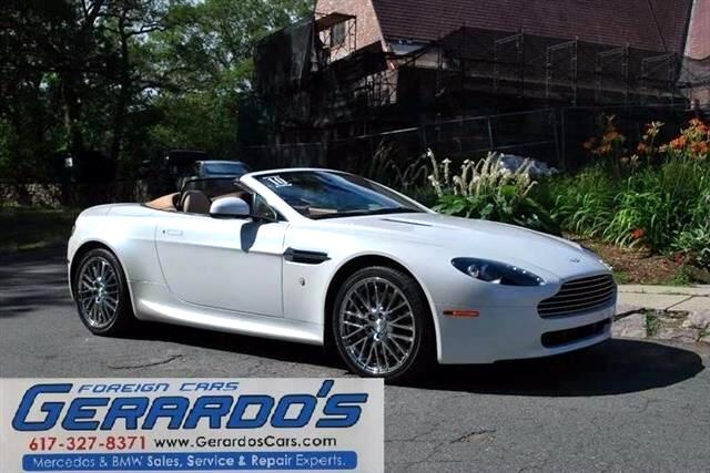 Aston Martin V8 Vantage Roadster 2010