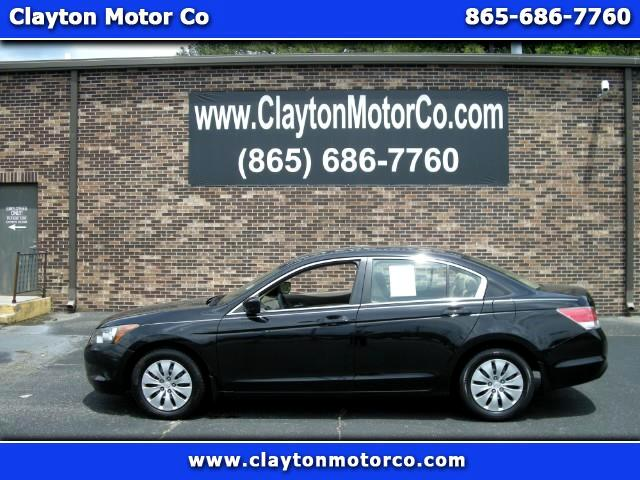 2009 Honda Accord LX sedan AT