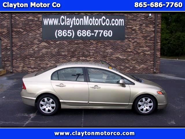 2007 Honda Civic LX Sedan AT
