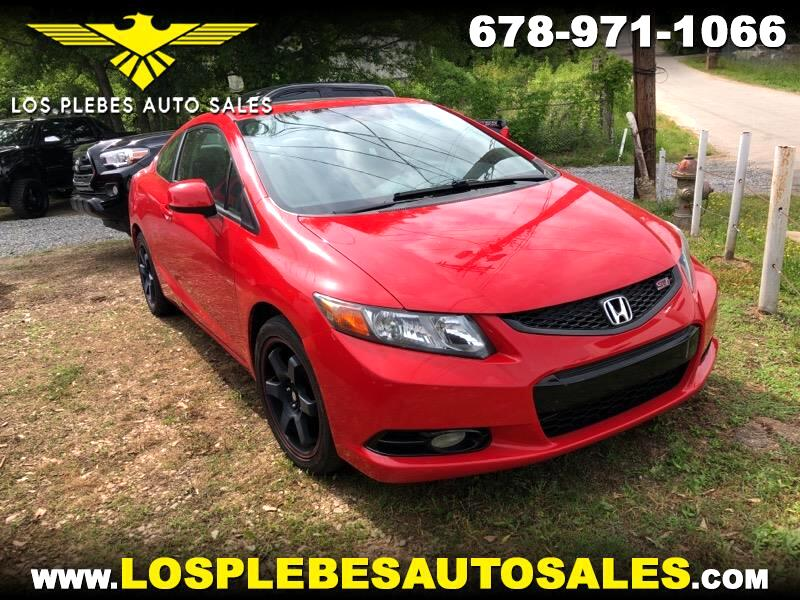 2012 Honda Civic Coupe 2dr Man Si