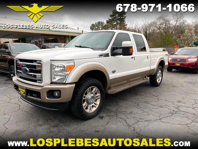 Ford F-250 SD King Ranch Crew Cab 4WD 2014