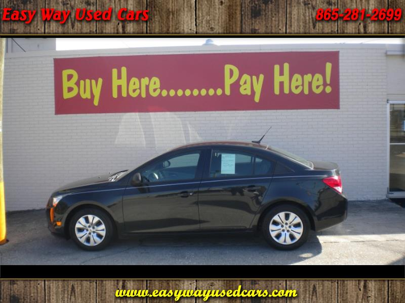 buy here pay here 2014 chevrolet cruze ls auto for sale in knoxville tn 37912 easy way used cars. Black Bedroom Furniture Sets. Home Design Ideas