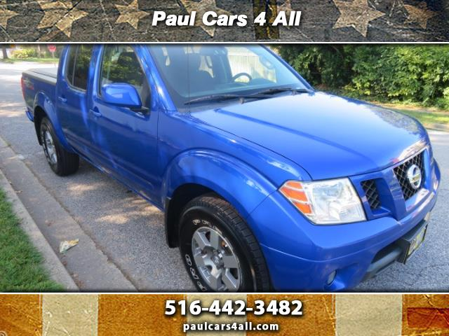 2012 Nissan Frontier PRO-4X Crew Cab 5AT 4WD