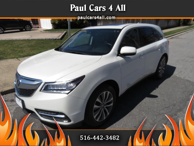 2016 Acura MDX SH-AWD 4dr w/Tech/Entertainment
