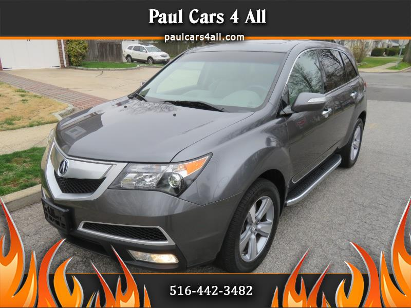 2012 Acura MDX AWD 4dr Tech/Entertainment Pkg