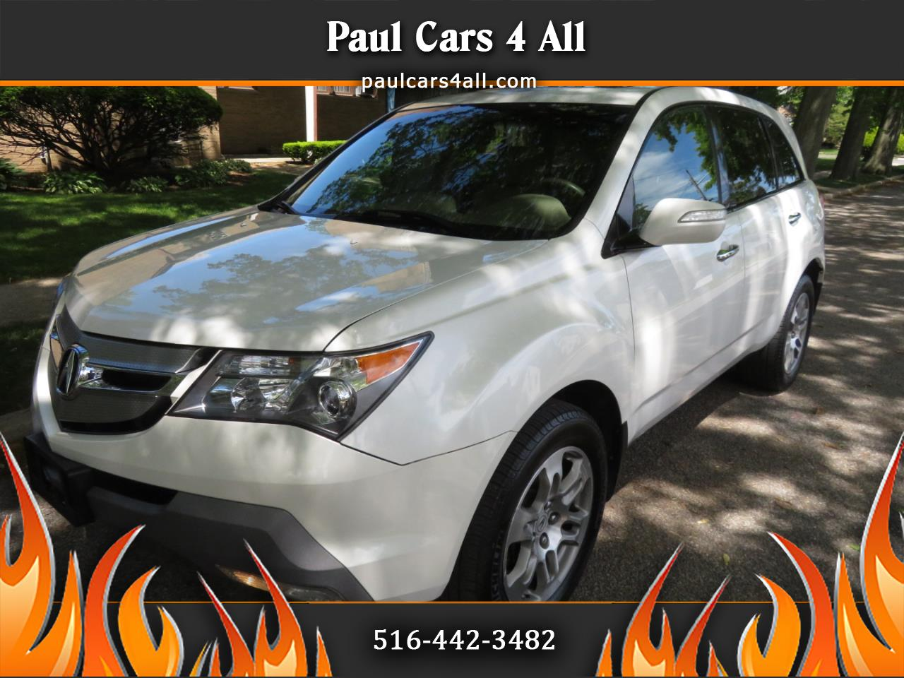 2008 Acura MDX 4WD 4dr Tech/Entertainment Pkg