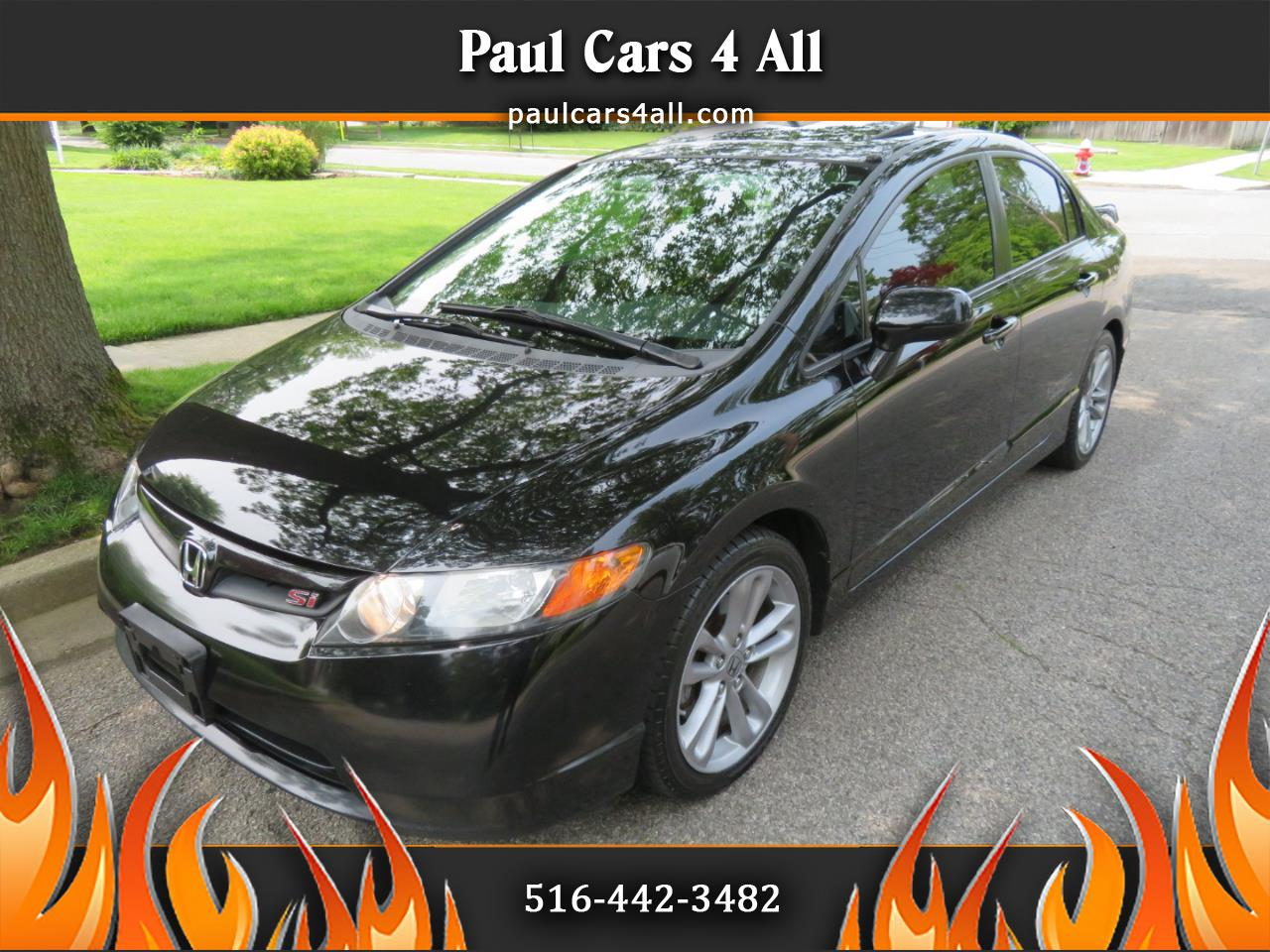 2008 Honda Civic Sdn 4dr Man Si
