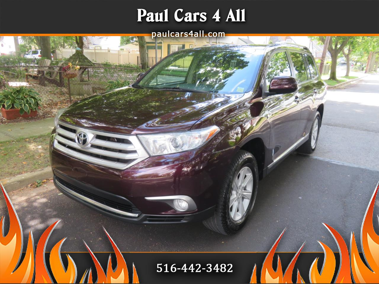 2011 Toyota Highlander 4WD 4dr V6  Base (Natl)