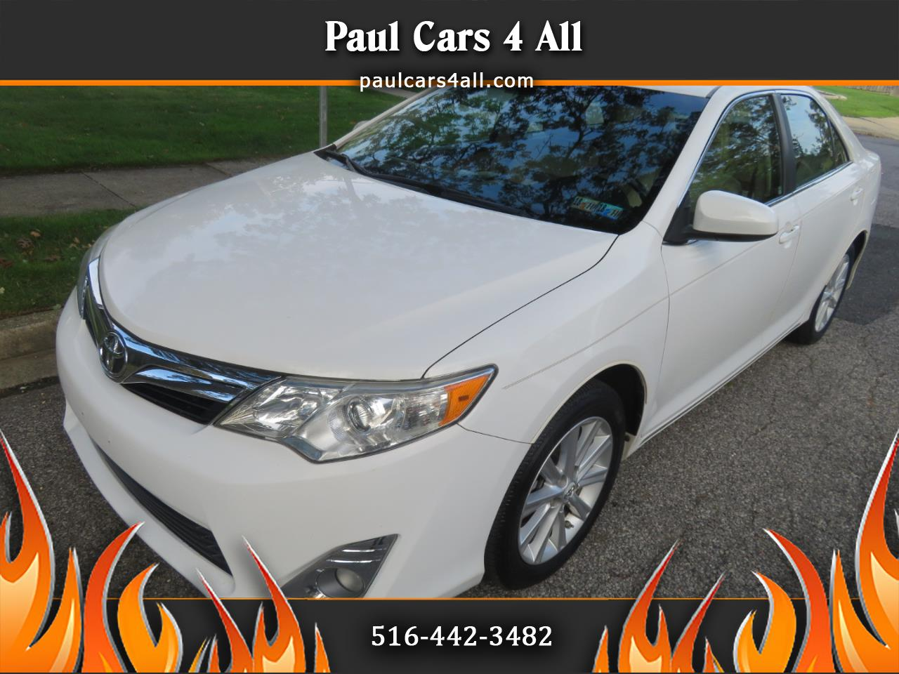 2012 Toyota Camry 4dr Sdn V6 Auto XLE (Natl)
