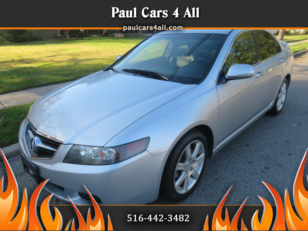 Acura TSX 4dr Sdn AT 2005