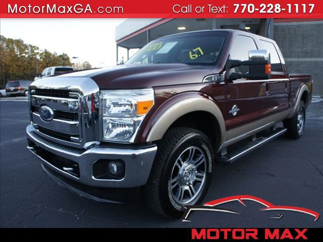 2011 Ford Super Duty F-250 SRW Lariat 4WD SuperCab 8' Box