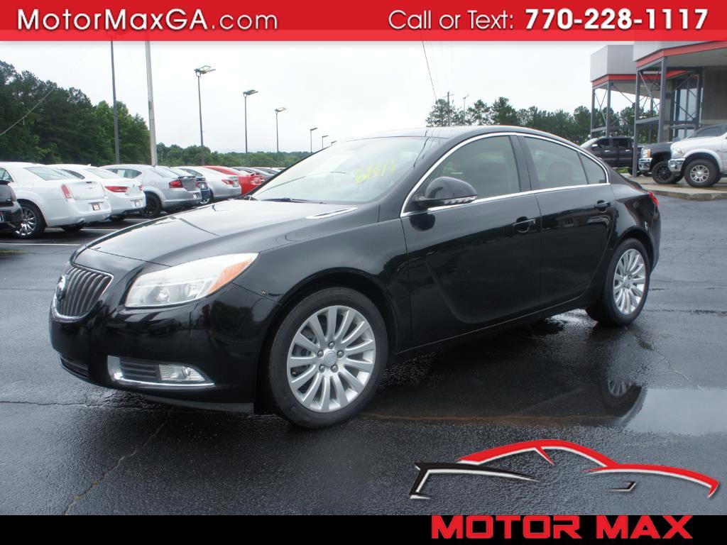 2012 Buick Regal 4dr Sdn Base
