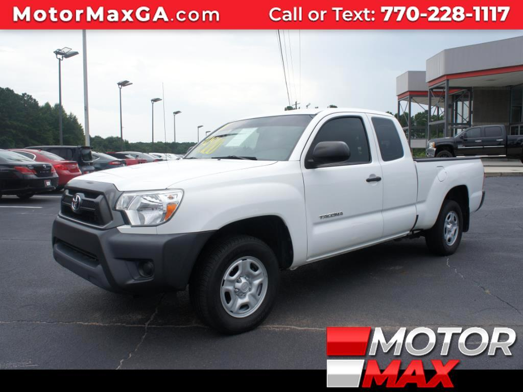 2014 Toyota Tacoma SR5 Access Cab 6' Bed I4 4x2 AT (Natl)