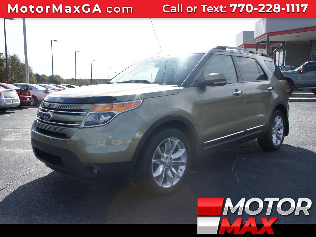 2012 Ford Explorer Limited 4.0L 4WD