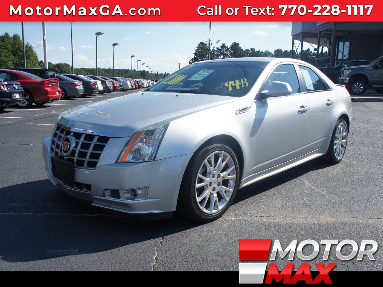 2013 Cadillac CTS 4dr Sdn 3.6L