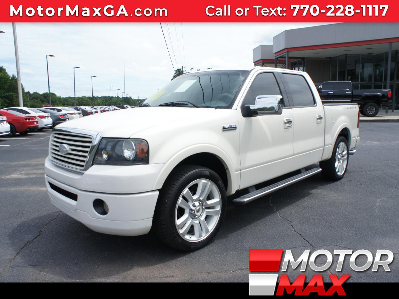2008 Ford F-150 LIMITED 2WD SUPERCREW