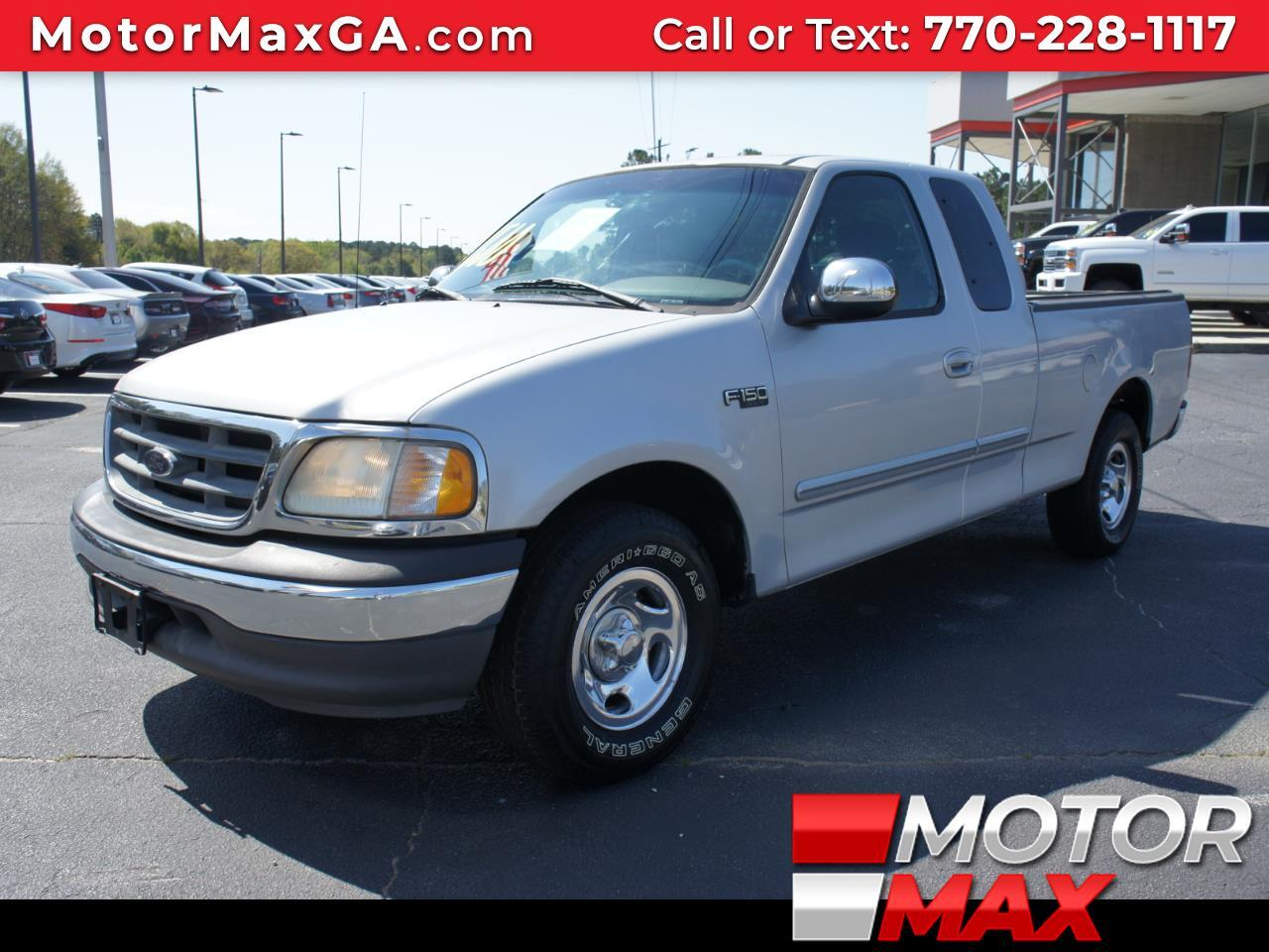 2002 Ford F-150 XL SuperCab 2WD