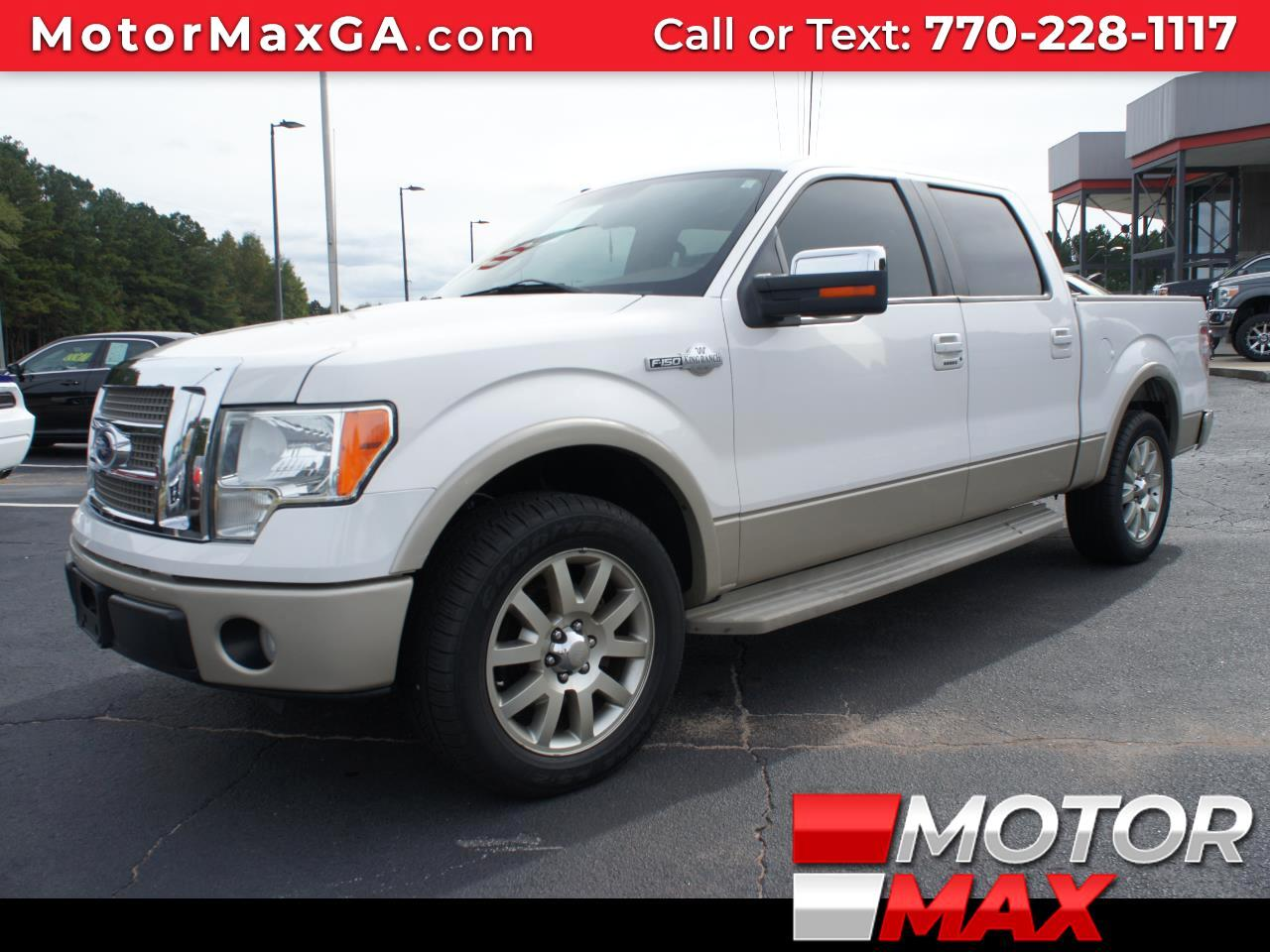 2010 Ford F-150 King Ranch SuperCrew 2WD