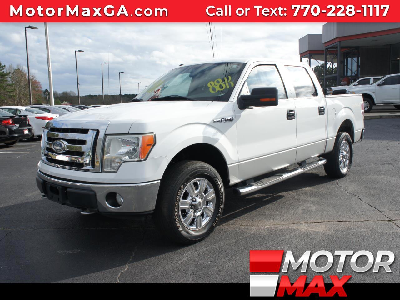 2009 Ford F-150 XLT 4x4 SuperCrew