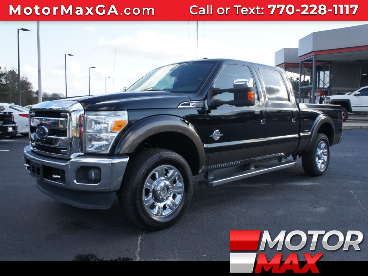 2016 Ford Super Duty F-250 SRW Lariat 4WD Crew Cab 6.75' Box