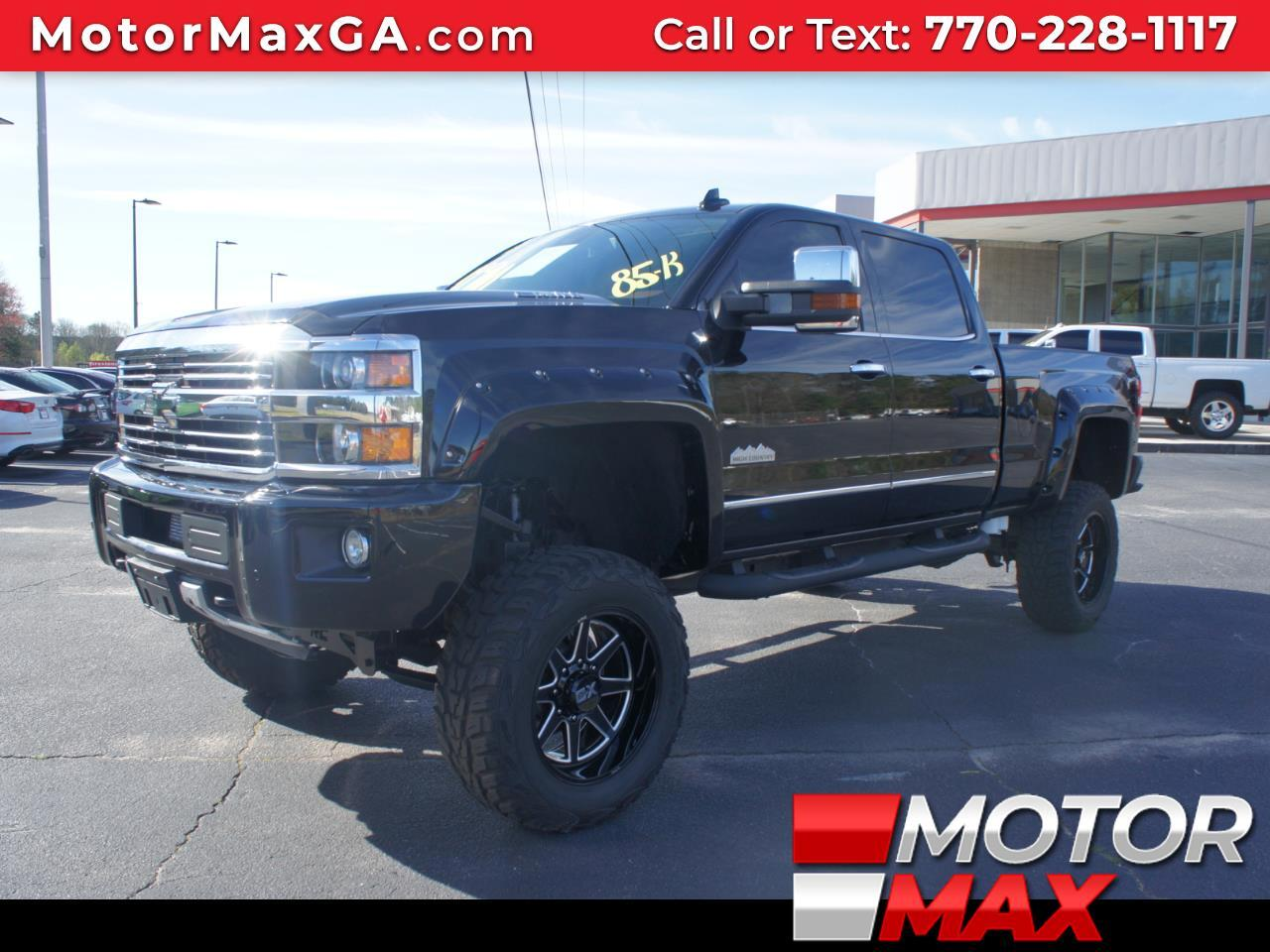 2015 Chevrolet Silverado 2500 4WD CREW CAB 153.7 HIGH COUNTRY