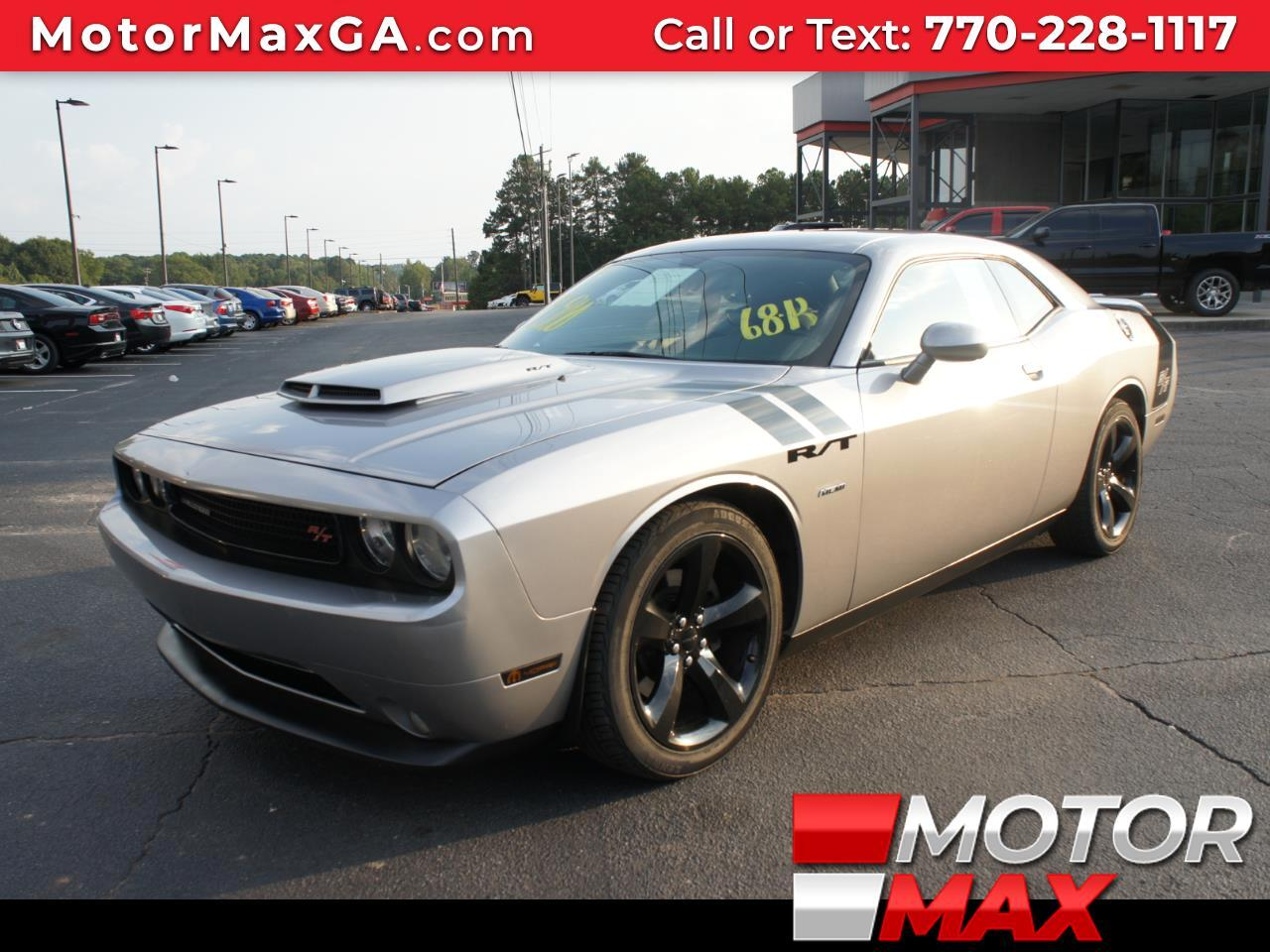 2014 Dodge Challenger For Sale >> Used 2014 Dodge Challenger R T 5 7l Hemi For Sale In Griffin