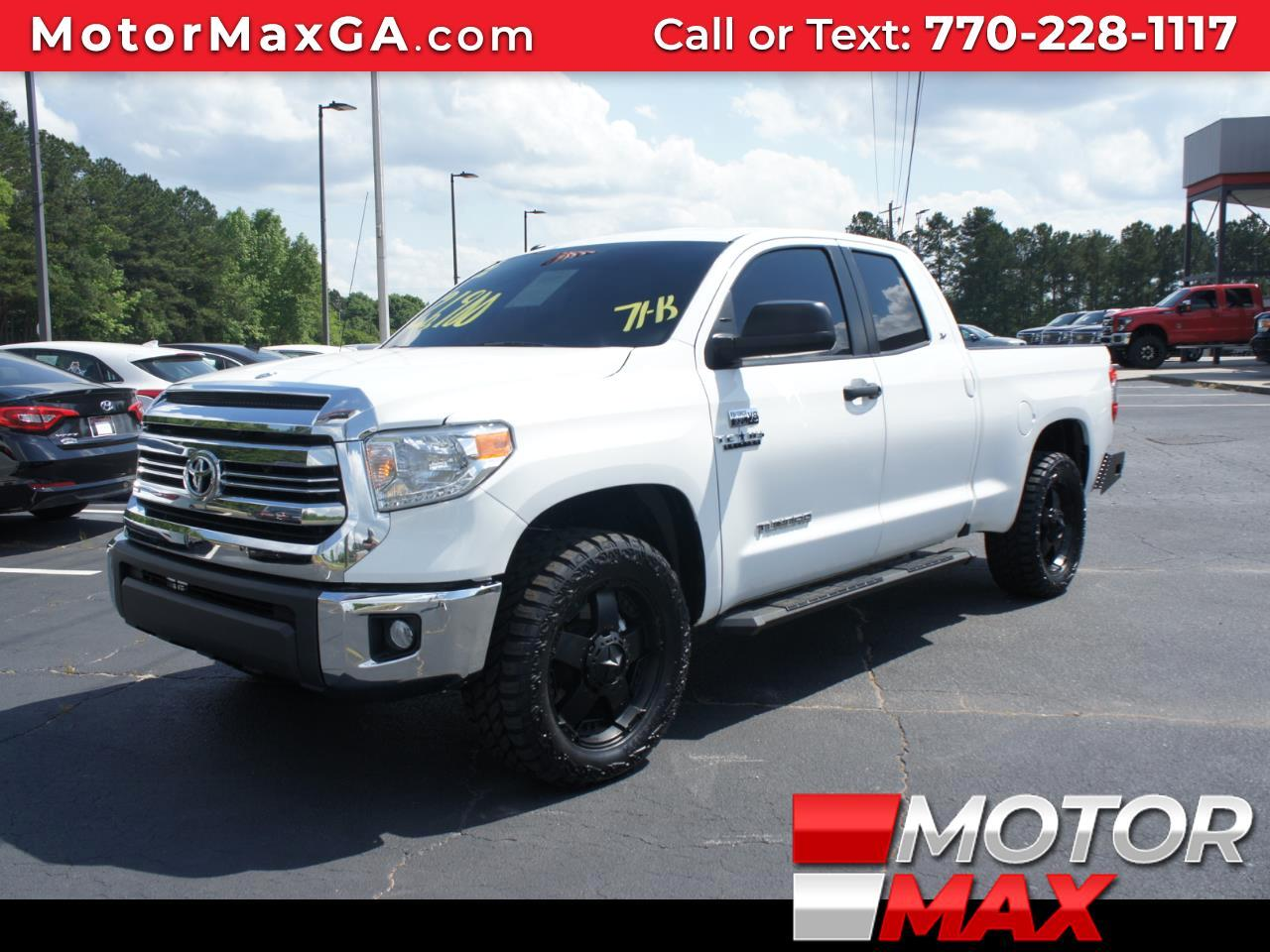 2016 Toyota Tundra SR5 Double Cab 4WD