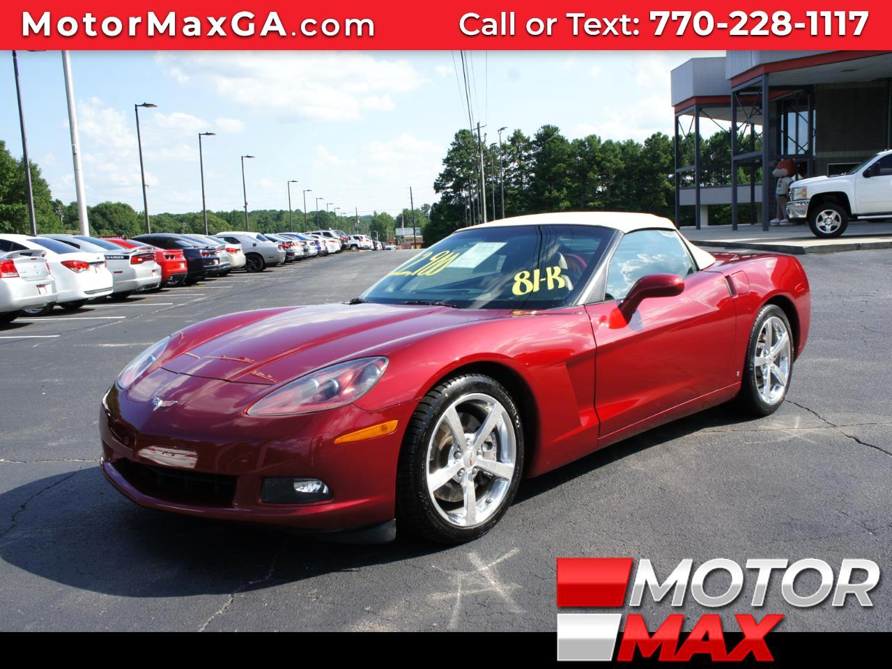 2008 Chevrolet Corvette 2dr Convertible