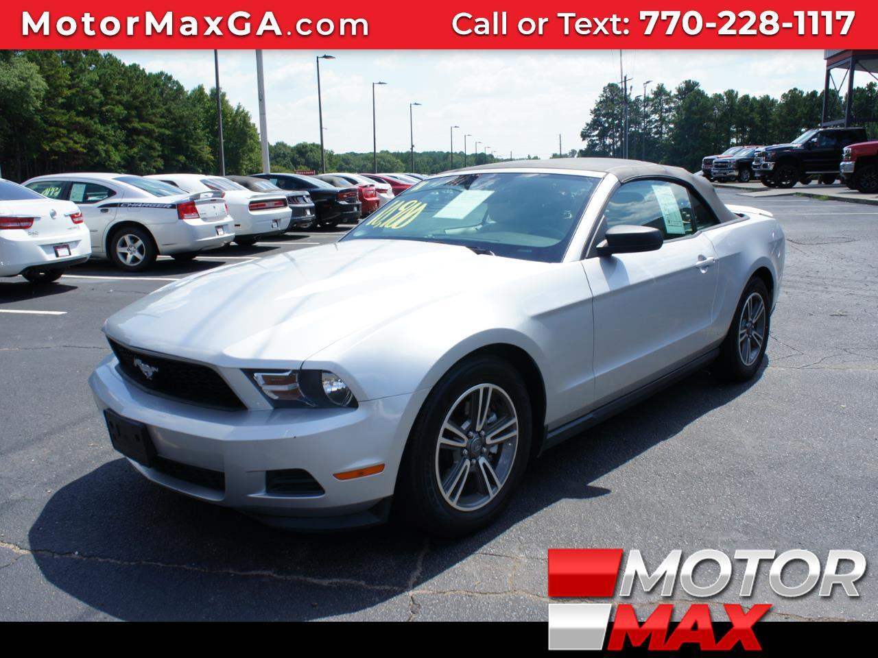 Ford Mustang 2dr Convertible 2011
