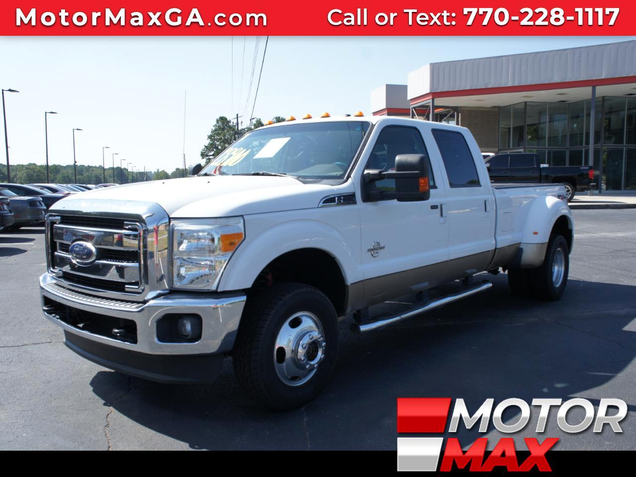 2011 Ford F-350 SD Lariat Crew Cab DRW 4WD Diesel Dually FX4 OFF ROAD