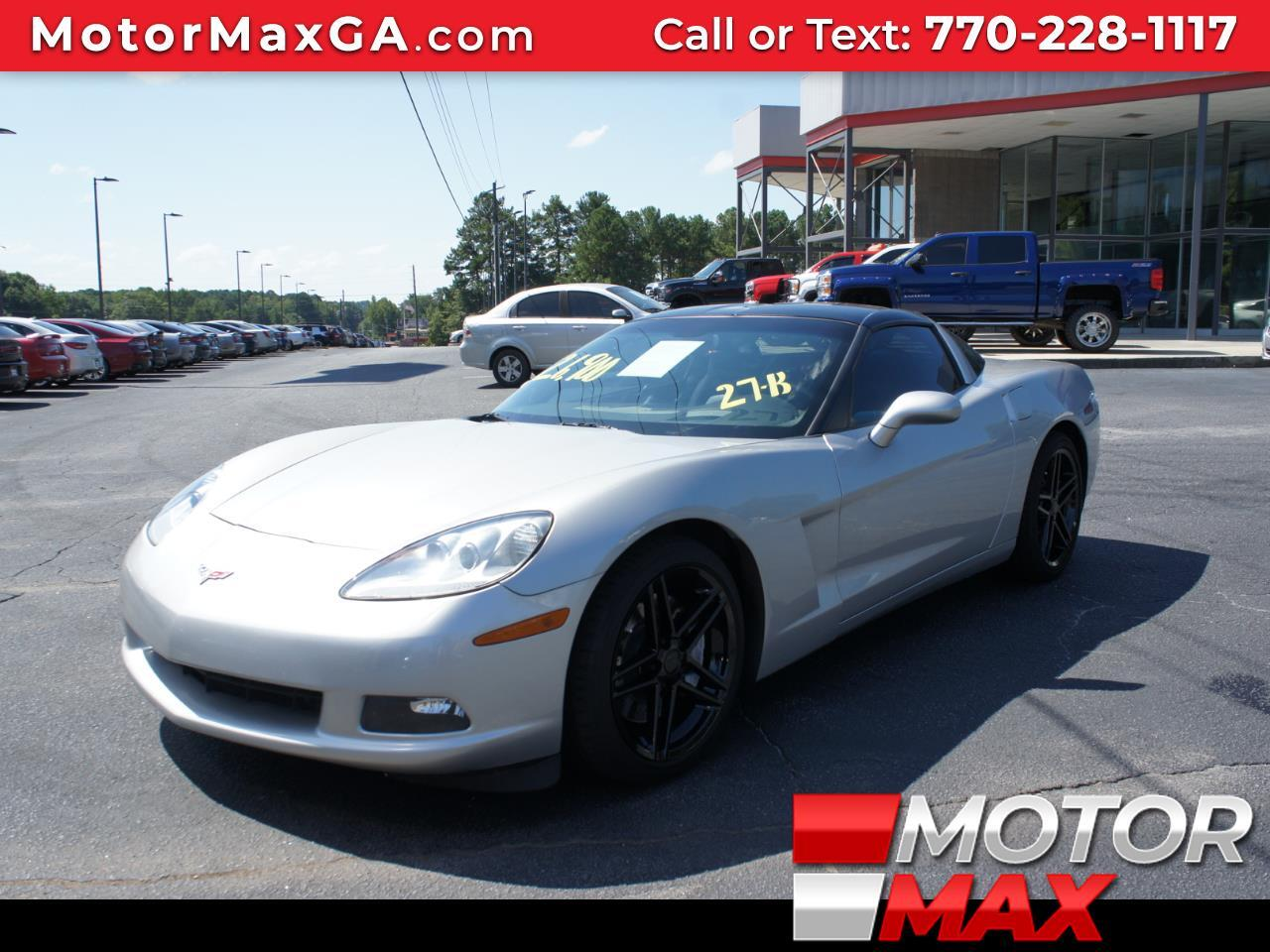2007 Chevrolet Corvette 2 Door Coupe Super Charger 6 Speed Manual