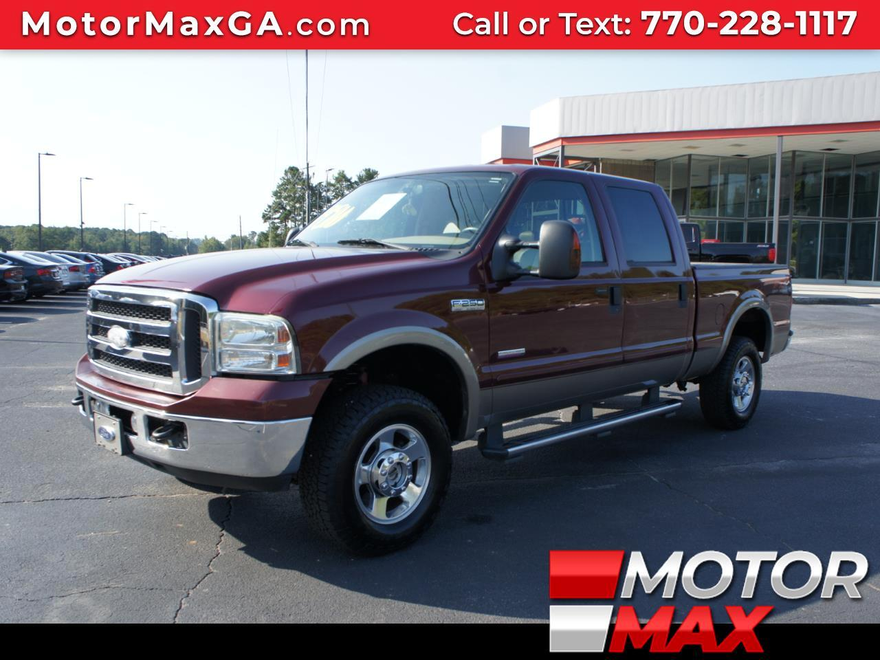 2005 Ford F-250 SD Lariat 4WD Diesel FX4 OFF ROAD