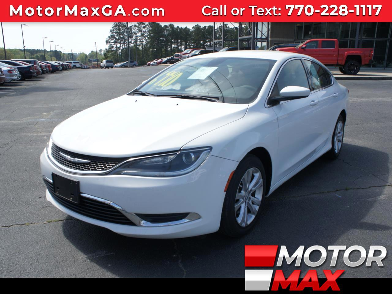 Chrysler 200 4dr Sdn Limited 2015