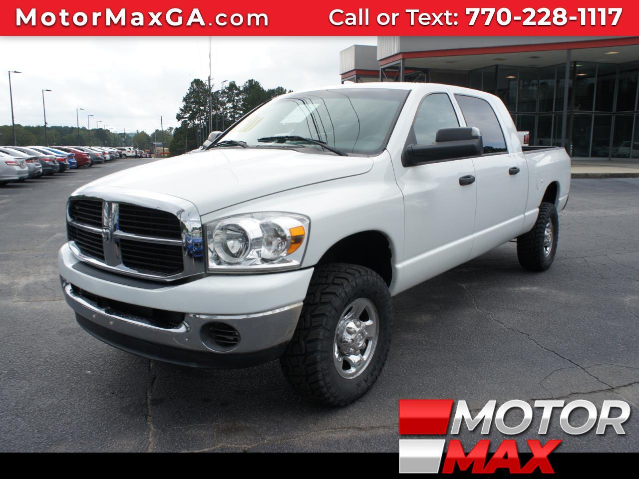 Used 2007 Dodge Ram 2500 Slt Mega Cab 4wd Diesel For Sale In Griffin Ga 30223 Motor Max