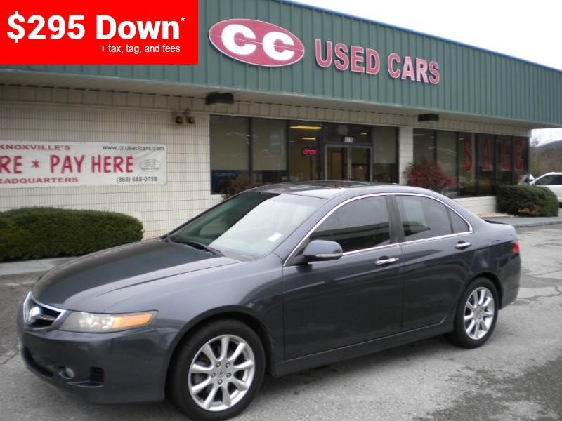 Cc Used Cars Knoxville Tn >> Used 2007 Acura Tsx In Knoxville Tn Near 37912