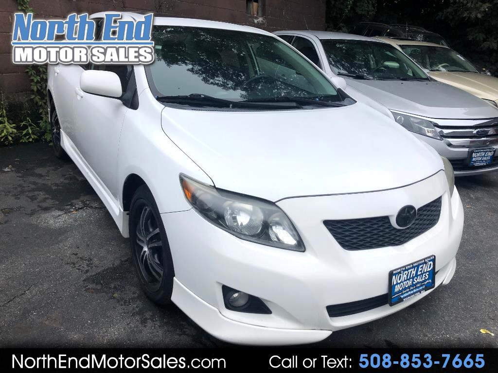2009 Toyota Corolla XRS 5-Speed AT