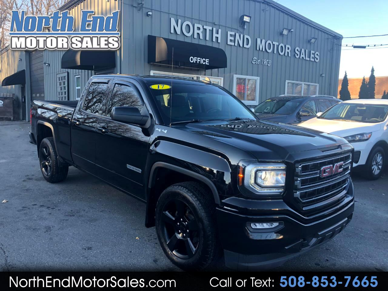 2017 GMC Sierra 1500 4WD EXTENDED CAB ELEVATION PACKAGE