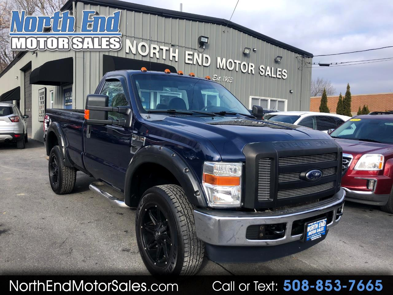 2009 Ford Super Duty F-350 SRW 4WD Reg Cab 137