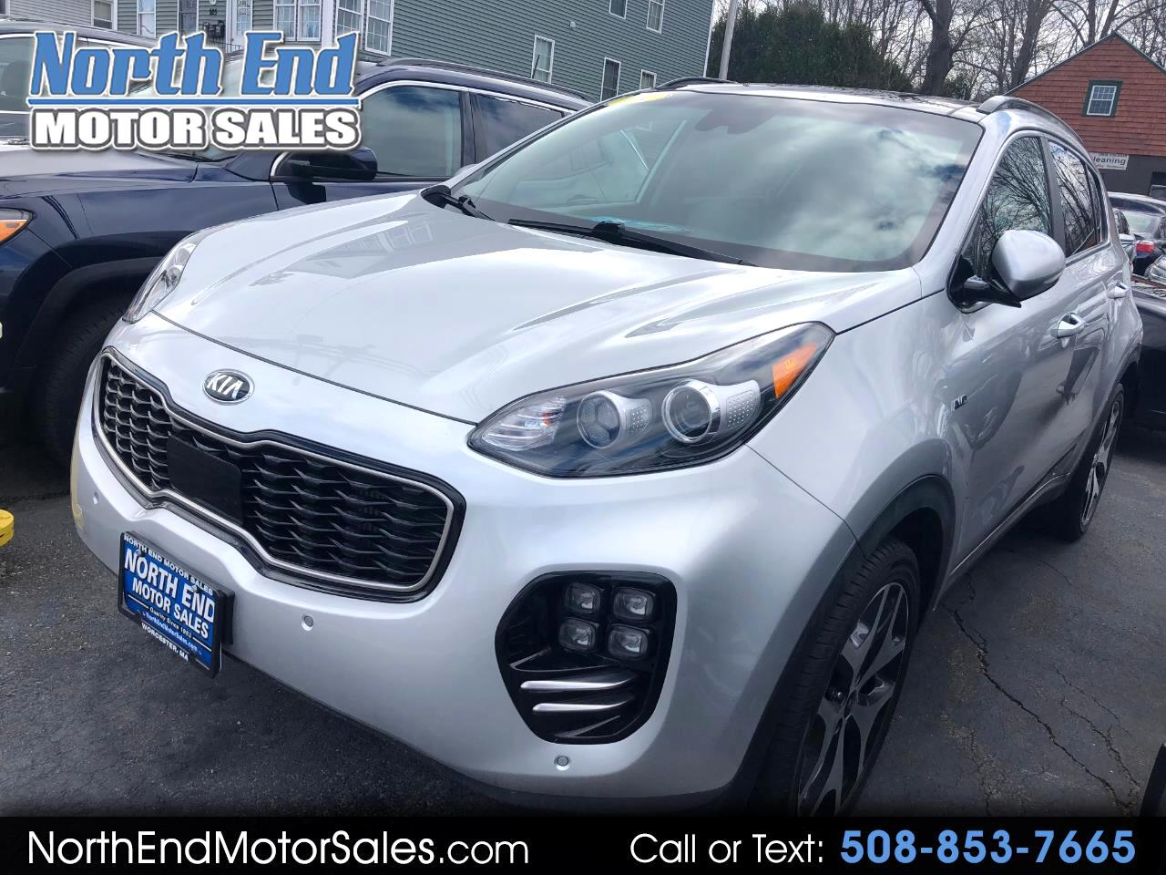 2018 Kia Sportage SX Turbo AWD