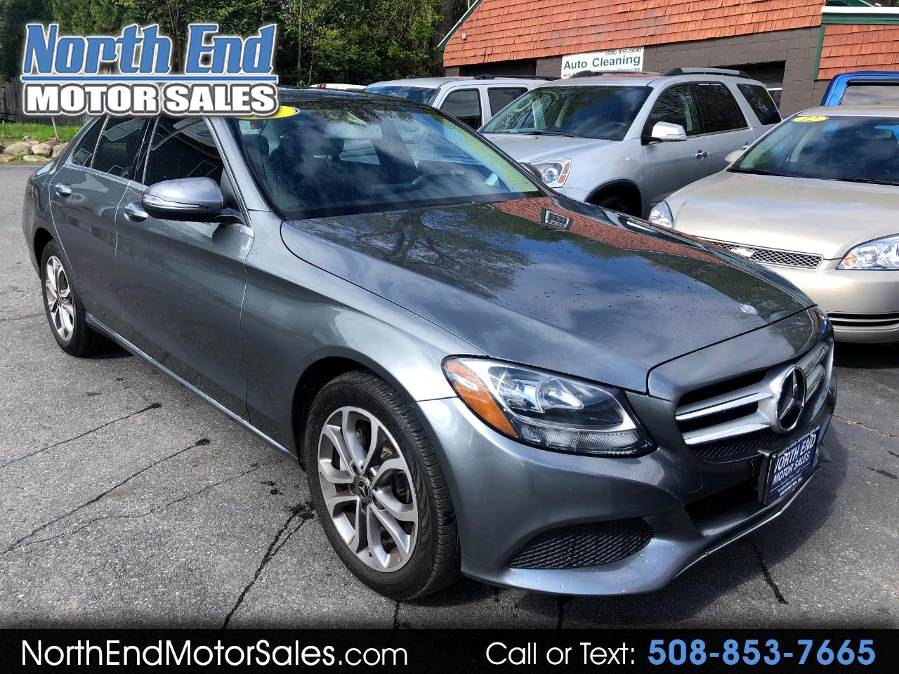 2017 Mercedes-Benz C-Class C 300 4MATIC Sedan