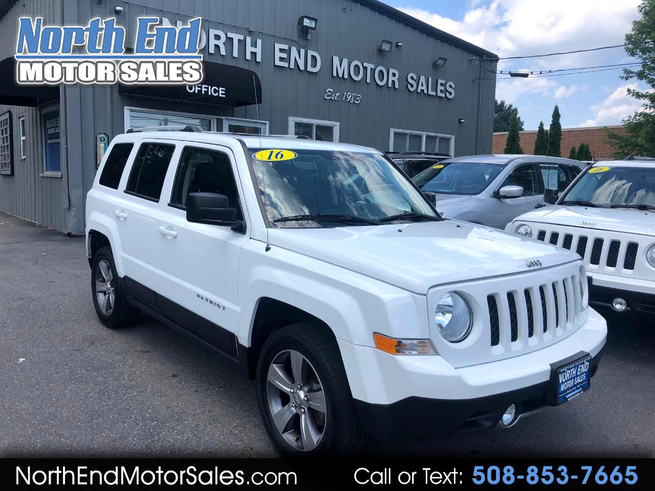 2016 Jeep Patriot 4WD 4dr High Altitude Edition