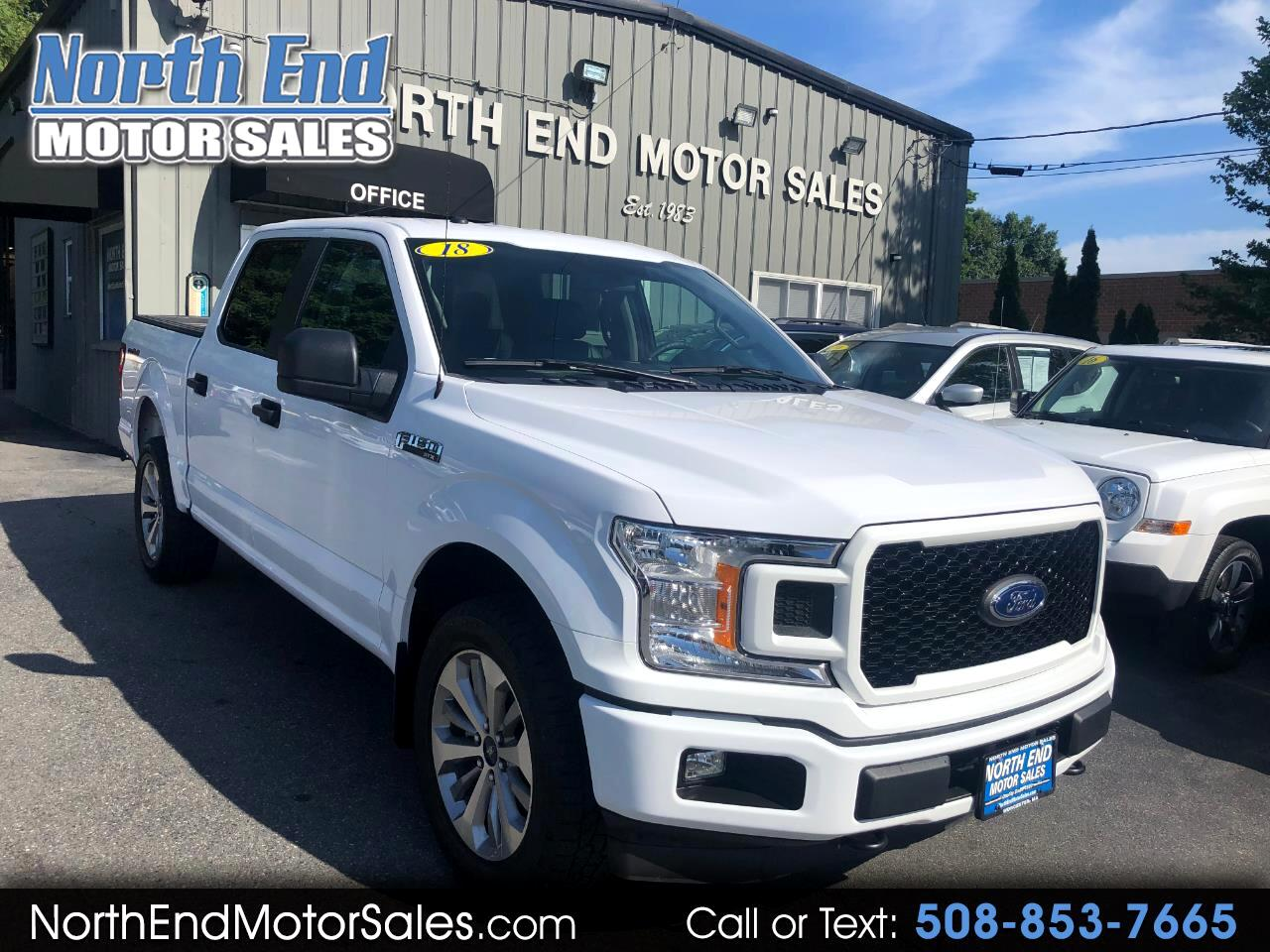 "2018 Ford F-150 4WD SuperCrew 145"" STX"