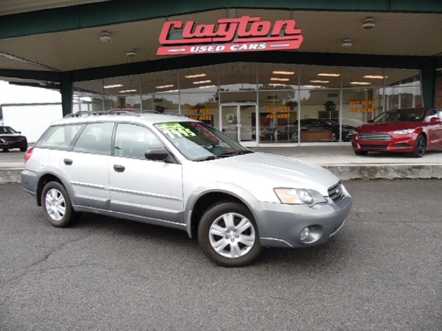 buy here pay here 2005 subaru outback wagon for sale in knoxville tn 37912 clayton used cars. Black Bedroom Furniture Sets. Home Design Ideas