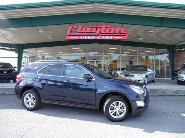 buy here pay here 2016 chevrolet equinox lt 2wd for sale in knoxville tn 37912 clayton used cars. Black Bedroom Furniture Sets. Home Design Ideas