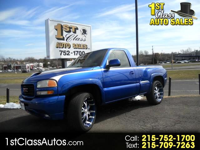 2001 GMC Sierra 1500 SLE Short Bed 4WD