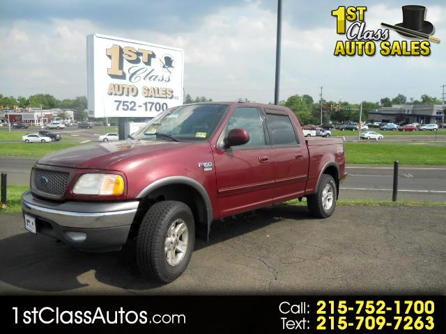 "2003 Ford F-150 4WD SuperCrew 145"" XLT"