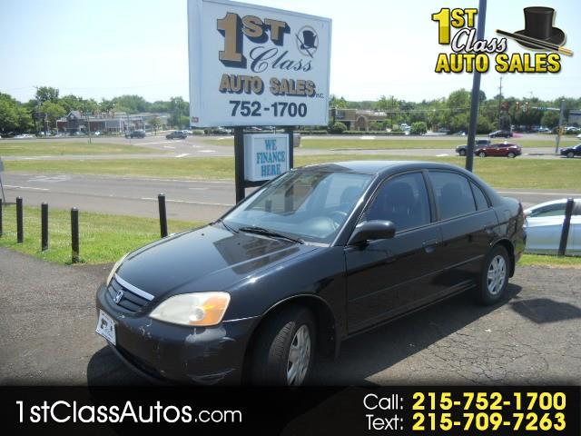 2003 Honda Civic LX Sedan 4-spd AT