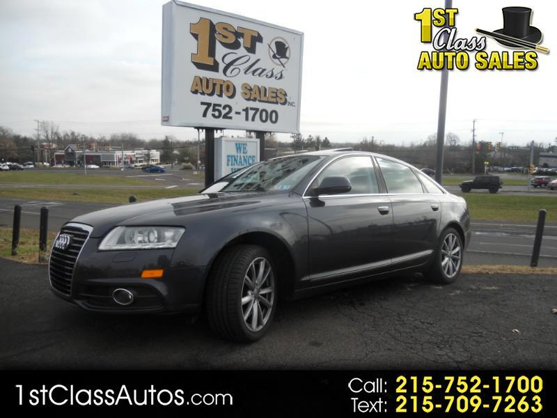 2009 Audi A6 4.2 with Tiptronic