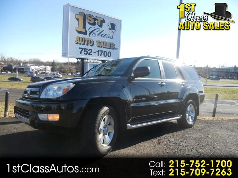 2004 Toyota 4Runner Limited 4WD