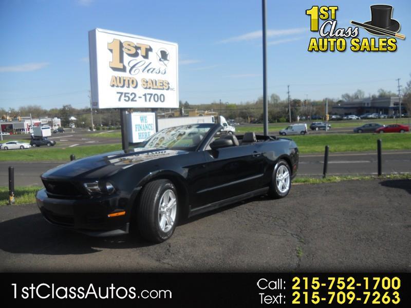 2011 Ford Mustang V6 Convertible